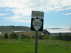 Montana Rural Road #323