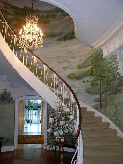 Beautiful Spiral Staircase So Gone With The Wind