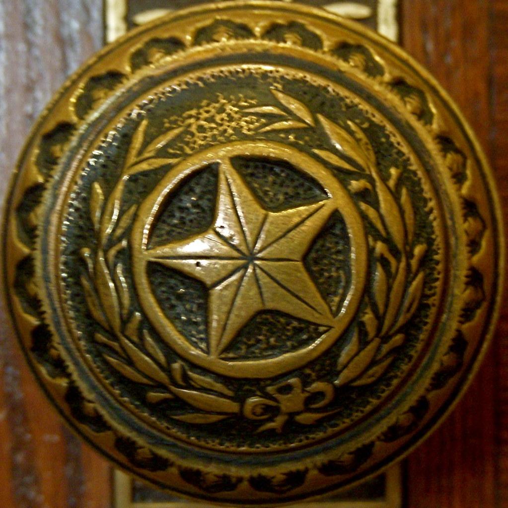 Doorknob at Texas State Capitol