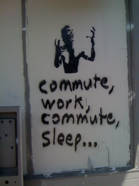 commute work commute sleep