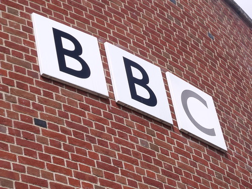 BBC East - Norwich - sign