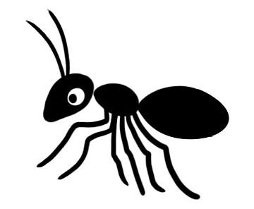Bajka o mrówce i słoniu