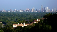Mount Larson: the other viewpoint to downtown Austin
