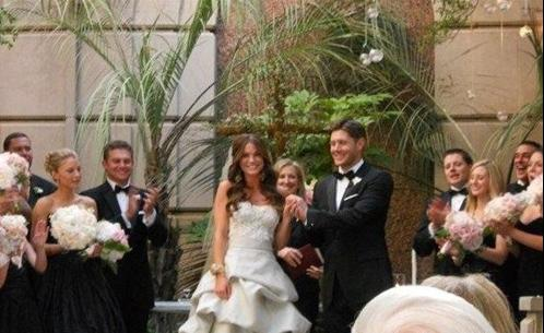 Jensen Ackles & Danneel Harris's marriage