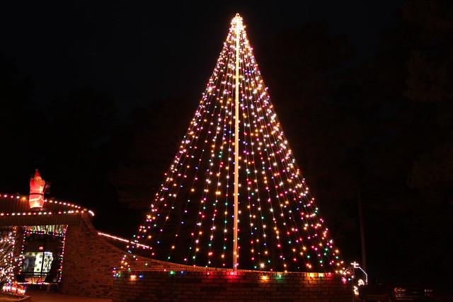 Flagpole Christmas Tree | Flickr - Photo Sharing!
