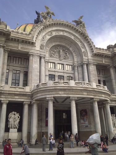 Palacio de Bellas Artes. Mexico City.