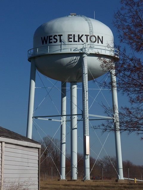 OH West Elkton - Water Tower