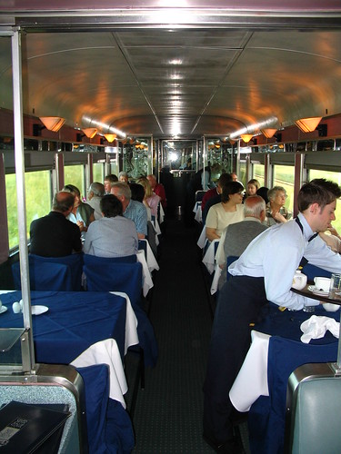 "Via Rail ""The Canadian"" Dining Car"