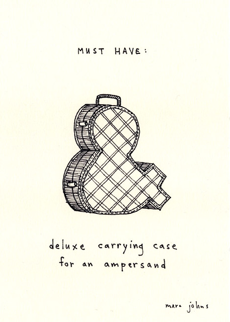 MUST HAVE: deluxe carrying case for an ampersand