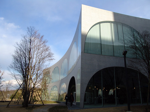 tama art university library tokyo japan architecture revived