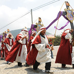 Men Carrying Crosses - Semana Santa, Antigua