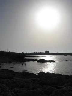 Into the sun in Malta