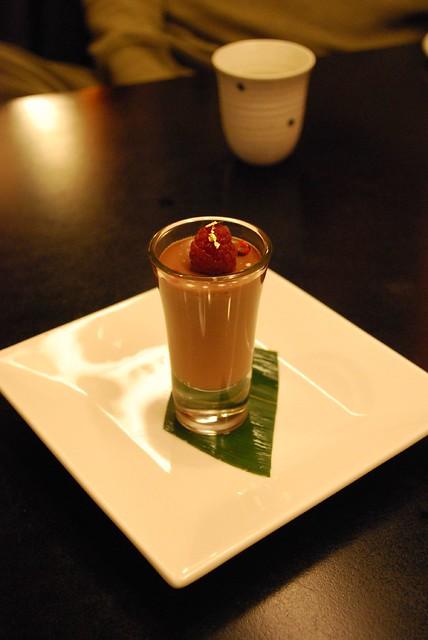 Tofu Chocolate Mousse © Alpha