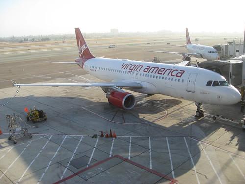 Youtube Air - Virgin America at LAX