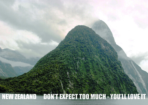 New Zealand: Don't Expect Too Much - You'll Love it