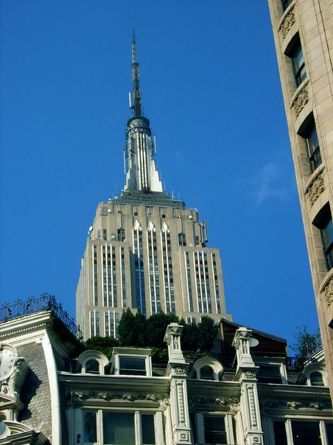 Empire State Building & A Roof Garden - NYC