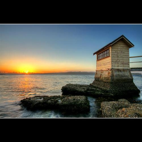 ocean sunset sky beach water rocks sydney australia hut nsw newsouthwales hdr watsonsbay campcove 3xp sigma1020 canon400d