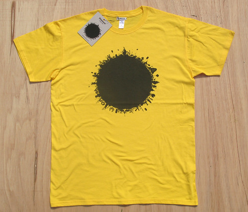 Plimsoul T Shirt 001 yellow