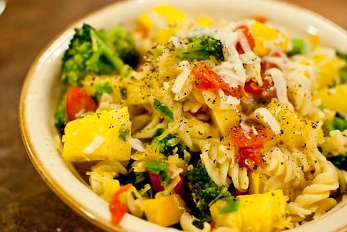 One-Pot Vegetarian Pasta Primavera