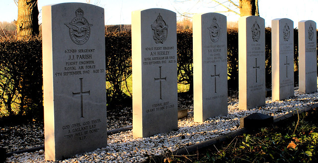 Allied graves
