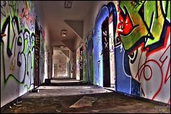 corridor to the canteen