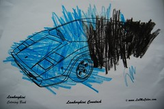 Coloring Page Countach