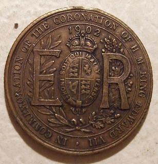 GREAT BRITAIN, EDWARD VII ---CORONATION MEDALLION 1902 a
