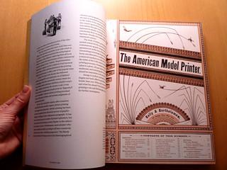 The American Model Printer spread