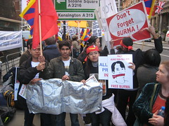 G20 Burmese ask Chinese President for Support 01/04/2009