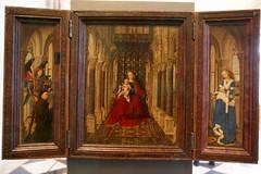 2009-06-11 06-14 Dresden 198 Gemäldegalerie Alte Meister, Jan van Eyck, Flügelaltar