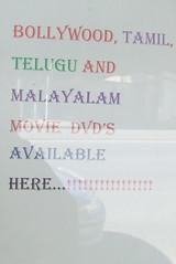 Signs in window of Indian Grocer, Ipswich Rd, Annerley Junction, Brisbane, Queensland, Australia 090617-2