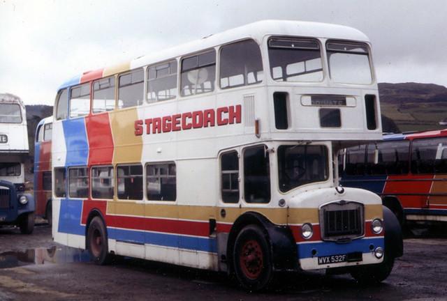 Stagecoach FLF Lodekka WVX532F