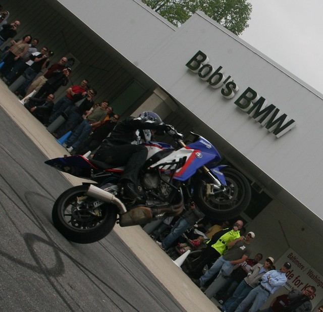 "Bob's BMW Stunt Show with Chris ""Teach"" McNeil"