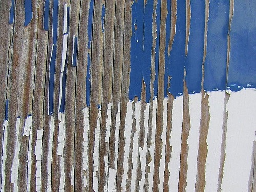 wood blue white lines virginia peeling paint lodge masonic age weathered weathering barbersign charlottecourthouse charlottecounty