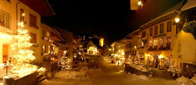 La Cité de Gruyères (Suisse)