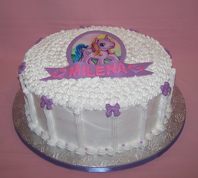 My Little Pony cake - Meringue cake | Flickr - Photo Sharing!
