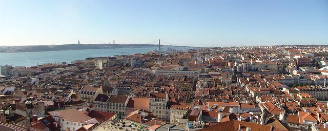 Cuidad y panorámica de Lisboa