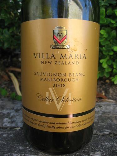 Villa Maria Cellar Selection Sauvignon Blanc 2008