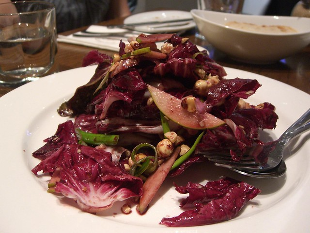 Radicchio, Pear, Hazelnut Salad with Pecorino Cheese and vincotto Dressing - Solarino AUD13.90