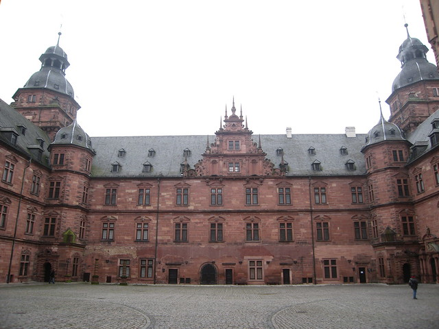 aschaffenburg castle inner court flickr photo sharing. Black Bedroom Furniture Sets. Home Design Ideas