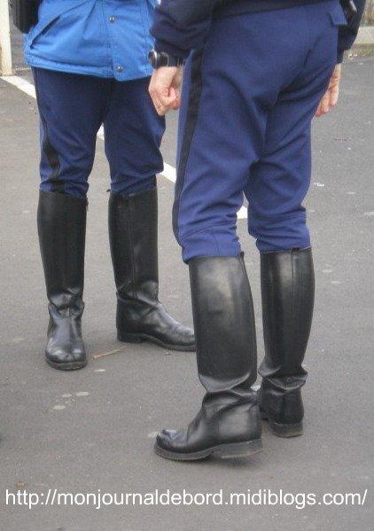 bottes de gendarme