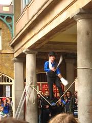 Juggling Images, Juggling Knives in London