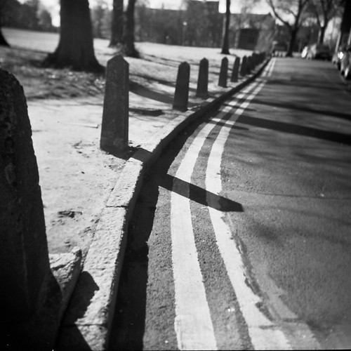 Bollards of Bruntsfield