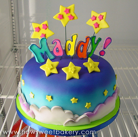 Tremendous Lisa Frank Cake Howsweetbakery Com Flickr Funny Birthday Cards Online Alyptdamsfinfo