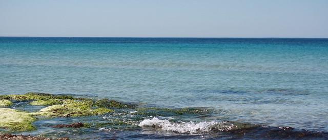 che spettacolo il mare di Mazara