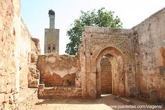 Necrópole de Chellah em Rabat