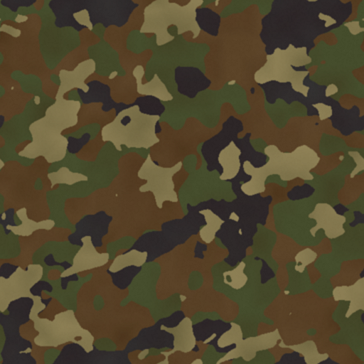 camouflage tile color range