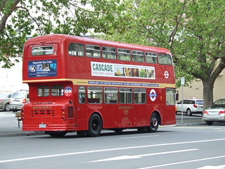 Hobart Red Tour Bus