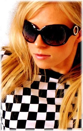 Brown Ladies Scene Queen Large Sunglasses