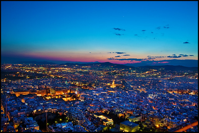 View from Mount Lycabettus #2